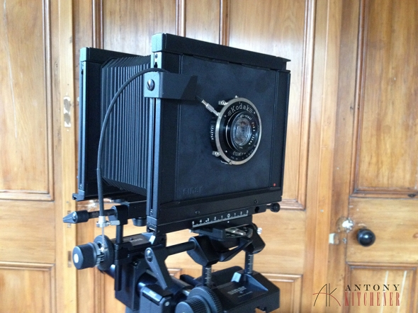 The Sinar F2 4x5 View Camera